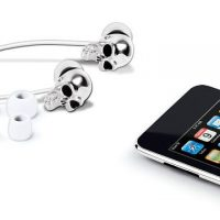 Merkury Innovations Skull Earbuds