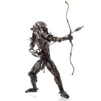 Metal Art Warrior Statue
