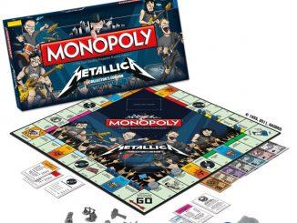 Metallica Edition Monopoly