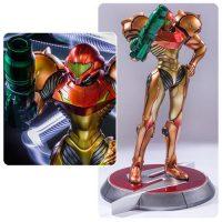 Metroid Prime Samus Varia Suit 1 4 Scale Statue