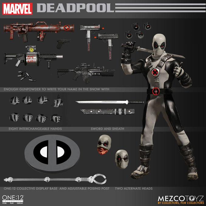 Mezco Deadpool X-Force One 12 Collective Action Figure