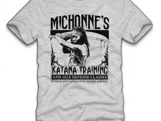 Michonne's Katana Training T-Shirt