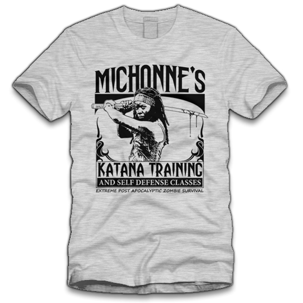 Michonne's Katana Training T-Shirt