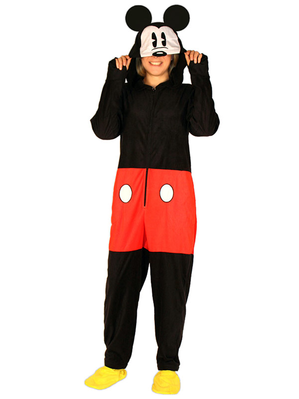 50% off Footed Hooded Adult Costume Pajamas