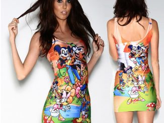 Mickey and Foes Zombie Dress