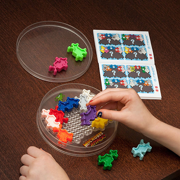 Microbial Puzzle Game