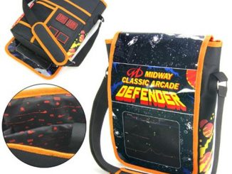 Midway Arcade Defender Messenger Bag