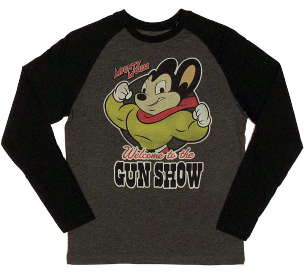 Mighty Mouse Gun Show Shirt