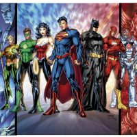 Mightyprint DC Comics Justice League Wall Art
