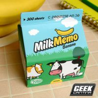 Milk Carton Paper Notepad