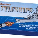 Milk Chocolate Battleships Board Game