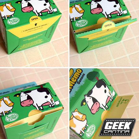 Milkbox Paper Notepad