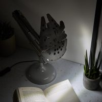 Millennium Falcon Book Lamp