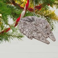 Millennium Falcon Christmas Ornament