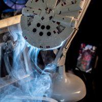 Millennium Falcon Desk Lamp Smoke