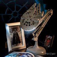 Millennium Falcon Desk Light