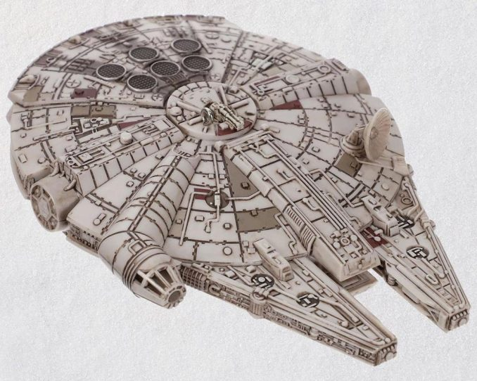 Millennium Falcon Light Sound Christmas Ornament