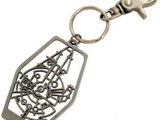 Millennium Falcon Minimal Key Chain