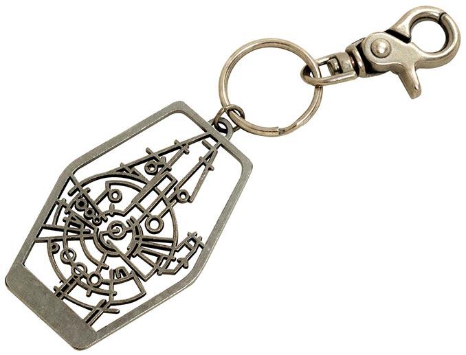 Millennium Falcon Minimal Keychain