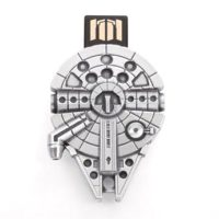 Millennium Falcon Pewter Flash Drive