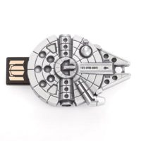Millennium Falcon Pewter USB Flash Drive