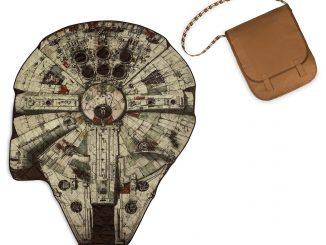 Millennium Falcon Picnic Blanket With Chewbacca Messenger Bag
