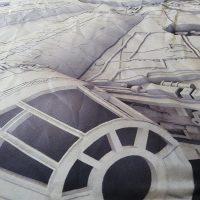 Millennium Falcon Picnic Rug Details