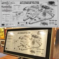 Millennium Falcon SpecPlate