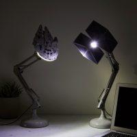 Millennium Falcon Tie Figther Desk Lamps