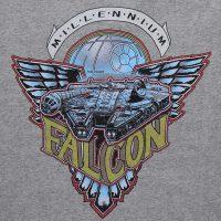 Millennium Falcon Unisex Zip Up Hoodie