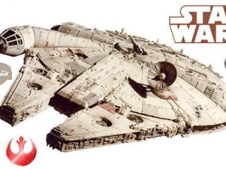Millennium Falcon Wall Cling