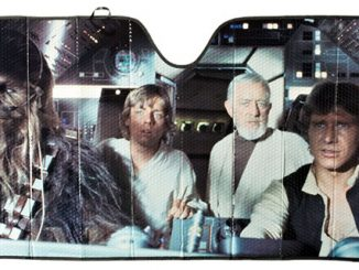 Millennium Falcon Windshield Sunshade