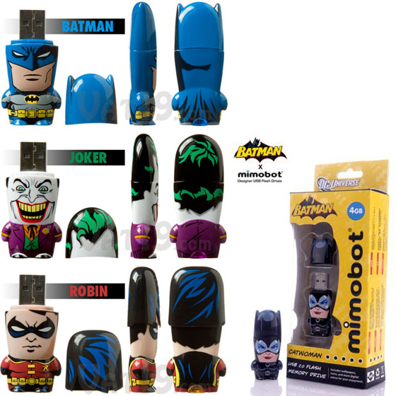 Mimobot Batman USB flash drive3