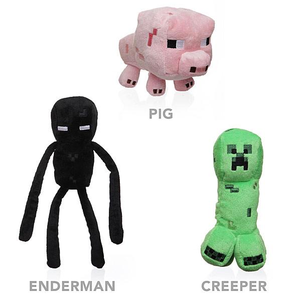Minecraft 7 Inch Plush Toys