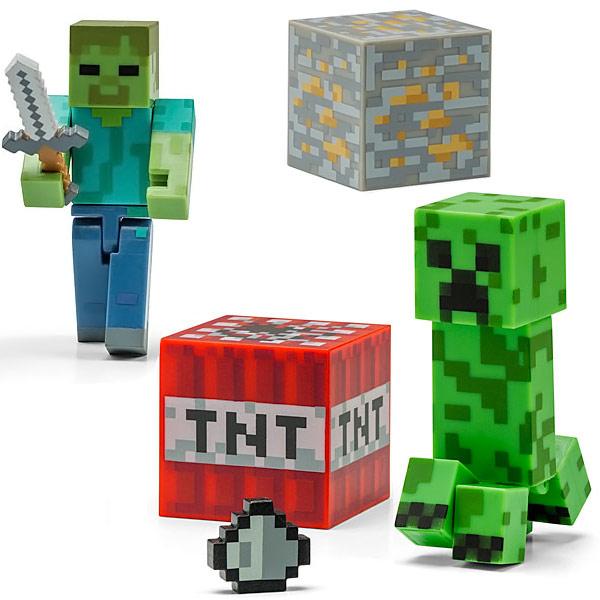 Minecraft Articulated Figures