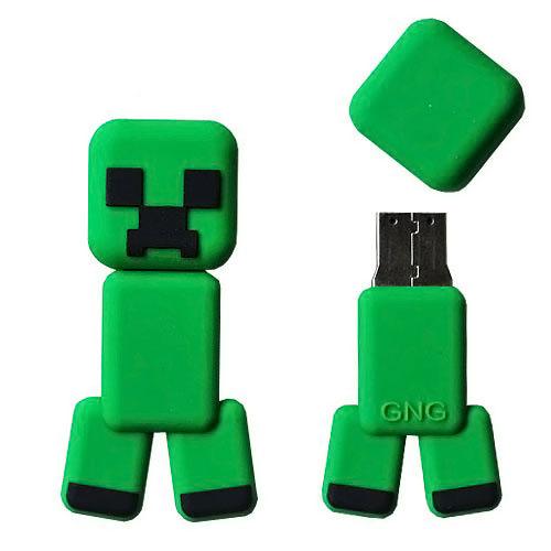 Minecraft Creeper Flash Drive
