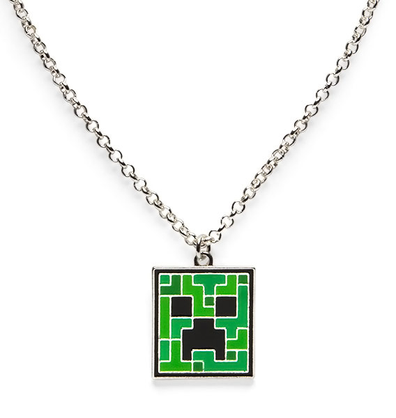 Minecraft Creeper Necklace