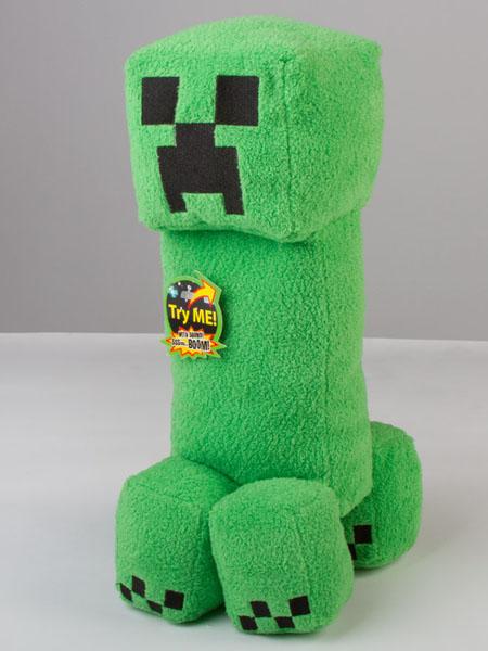Walmart Minecraft Toys For Boys : Minecraft creeper plush toy with sound