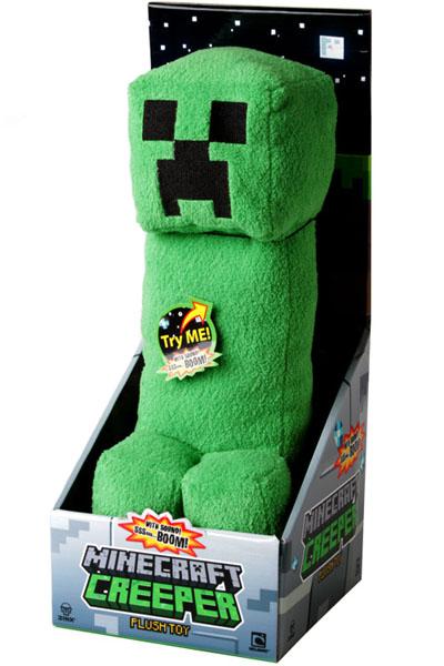 Minecraft Creeper Plush Toy With Sound