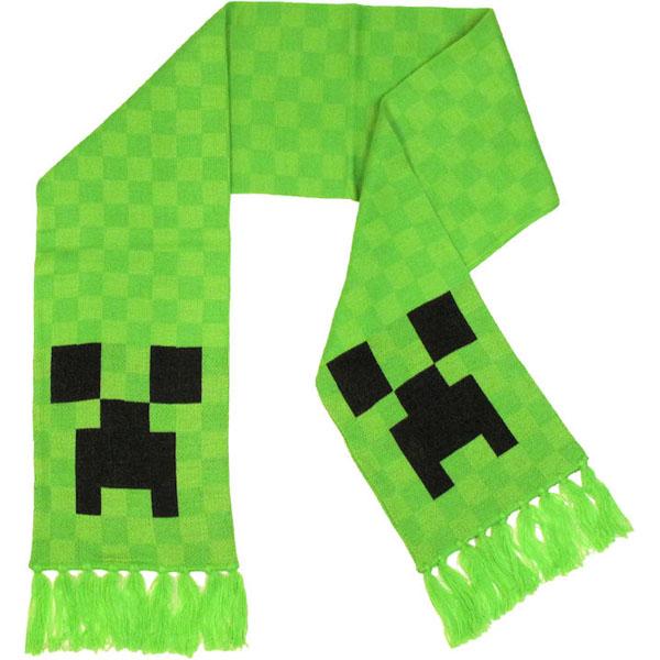 Minecraft Creeper Scarf