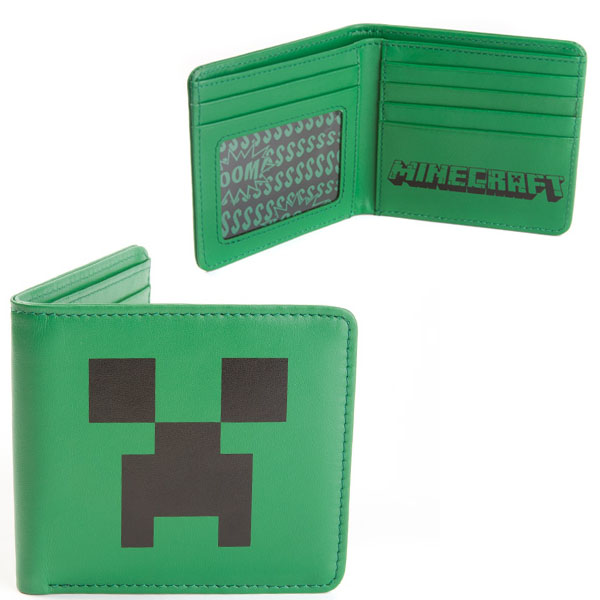 Minecraft Creeper Wallet