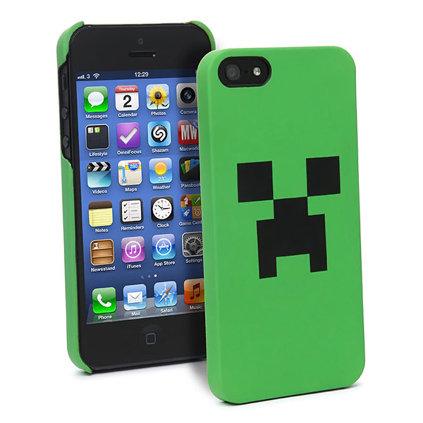 Minecraft Creeper iPhone Case