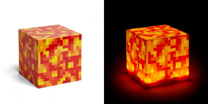 Minecraft Lava Lamps