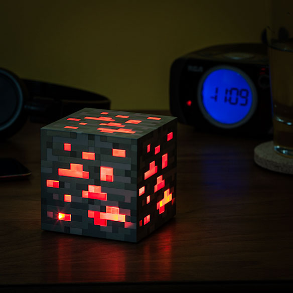 Minecraft Light-Up Redstone Ore