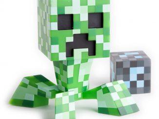 Limited Edition Minecraft Pixelated Creeper Vinyl
