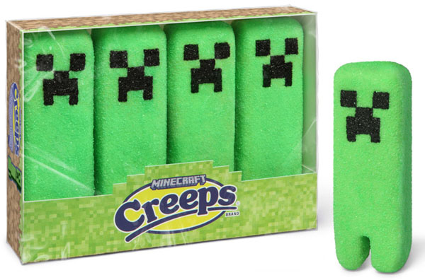 Minecraft Marshmallow Creeps
