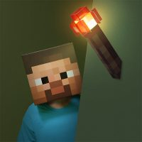 Minecraft Redstone Wall Torch