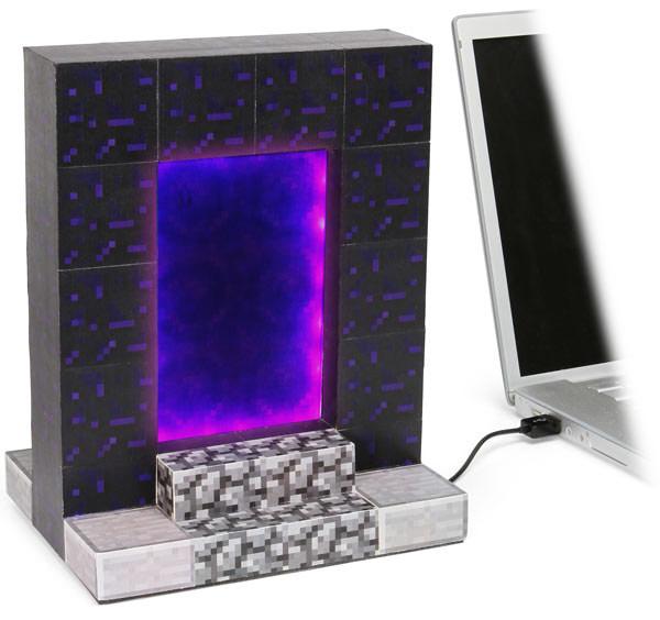 Minecraft USB Desktop Nether Portal