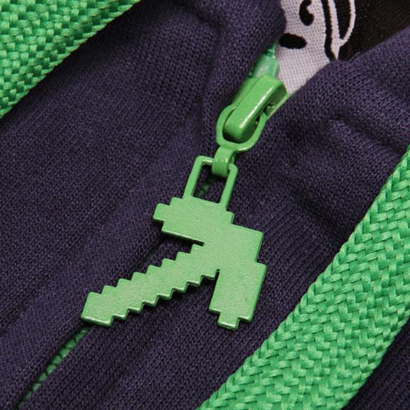 Minecraft Zipper University Hoodie