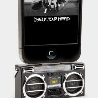 Mini Boombox MP3 iPod Speaker